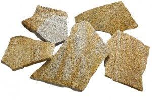 ドネガルストーン(アイルランド)ドネガルストーンは、アイルランドの北西部で採石されています。光沢があり、乱張りのポーチやアプローチに使用されています。